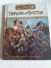Dungeons & Dragons Heroes of Battle Supplement Hardback book