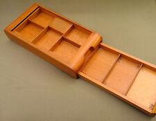antique Romanian Luxury Regal cigarette wood snuff-box wooden case 1929 - 1947