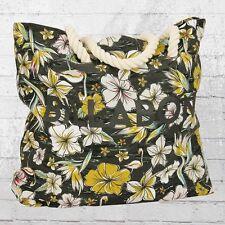 Billabong Frauen riesige Strandtasche Essential Beach Bag schwarz bunt Tasche