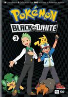 WARNER HOME VIDEO D250096D POKEMON BLACK & WHITE SET 3 (DVD/2 DISC)