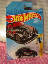 VOLKSWAGEN  BEETLE #262 US 50✰black VW;Pawn♛CHECKMATE♛2018 Hot Wheels case L