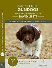 David Lisett Gundog Training - Complete Springer Spaniel Series - DVD 1 - Puppy