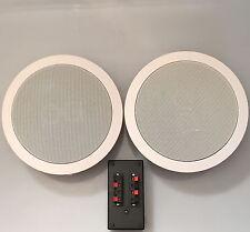 Wireless Bluetooth Ceiling Speaker   2 x  Single Point Stereo 100 Watts (S50LD)