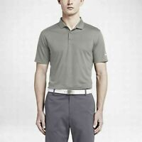 NWT Mens NIKE VICTORY SOLID Golf POLO shirt gray stay cool 725518 093