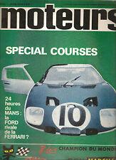 MOTEURS 43 1964 AUSTIN HEALEY 3000 MK3 ESSAIS 24H MANS GP MONACO FRANCE SEBRING