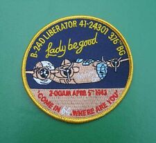 LADY BE GOOD LIBERATOR B24 376TH WORLD WAR 2 LIBYA BOMBER 9TH AIR FORCE