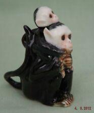 Klima Miniature Porcelain Animal Figure Monkey With Baby M166
