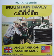 MOUNTAIN DAVEY & THE CAJUN KID - Excellent Condition LP Record Jade JDLP 1