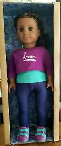 "American Girl 18"" Doll Gabriela McBride 2017 GOTY, Excellent condition"