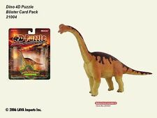 4D Puzzle Master Lot of 24 Dinosaur Brachiosaurus brand new on Blister card NEW