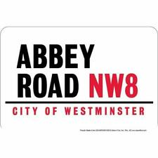 Abbey Road Nw8 City of Westminster / 8x12 metal sign /