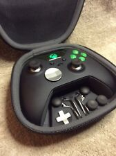 Elite Xbox One 1 Controller - Custom GREEN Led, Buttons, ABXY w/Letters FREE S&H