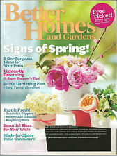 Better Homes and Gardens May 2011 Gorgeous Patio/Sandwich Suppers/Mexican