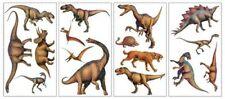 RoomMates 4Bögen 16x Wandtattoos Dinosaurier ablösbar Tatto Wandsticker Dino