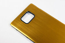 Metall Akkudeckel Gehäuse Battery Cover Case für Samsung Galaxy S2 II i91 (Gold)