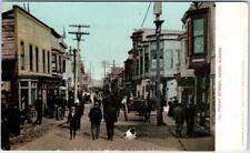 NOME, Alaska  AK   FRONT STREET Scene   ca 1900s  UDB  Postcard