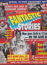 Fantastic Stories May 1993 Elvis Presley Bill Clinton Loch Ness Monster
