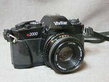 APPAREIL PHOTO ARGENTIQUE: VIVITAR  V 2000  ZOOM cosina  50 mm