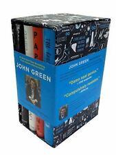 John Green Deluxe Box Set by John Green 4 Hardback Book Set! Sealed!