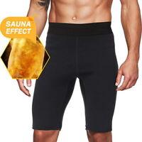Homme Taille Hauts  Shaper Sudation Minceur Short Fitness Pantalons