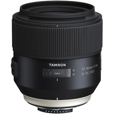 Tamron 85mm f1.8 SP Di VC USD Telephoto Lens F016N: Nikon Fit