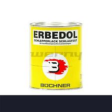 Büchner Erbedol RAL5004 schwarzblau Lack Farbe Kunstharzlack 750ml 14,53€/L