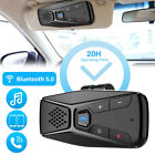 Sun Visor Wireless Bluetooth 5.0 Car Kit Hands Free Speakerphone Speaker Phone