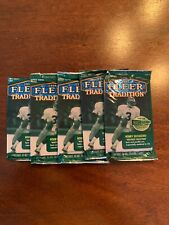 (5) 1998 Fleer Tradition Hobby NFL Football Packs. MANNING ROOKIE CARD?