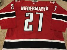 SCOTT NIEDERMAYER 2002 Signed Team Canada Game Authentic PRO NEW Hockey Jersey