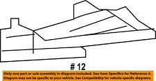 Dodge CHRYSLER OEM 13-14 Dart Instrument Panel Dash-Under Cover Right 5108298AB