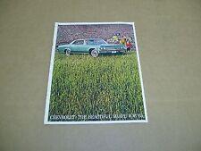 ORIGINAL 1965 Chevrolet Impala SS Bel Air Biscayne sales brochure BIG 20 page