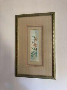 Vintage  Dale Nichols Limited Original Signed & Numbered Floral Print