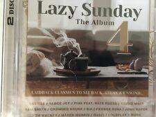 LAZY SUNDAY - The Album Vol 4 - Various 2 x CD 2019 Sony BRAND NEW! 2CD
