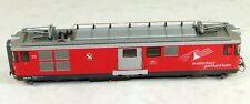 Bemo #1263 553 Powered Electric Locomotive MGB HOm Scale 1/87 Narrow Gauge