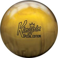 15lb Brunswick Kingpin Gold Limited Edition Pearl Reactive Bowling Ball