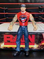 WWE Jakks Adrenaline 4 Undertaker Big Evil American Badass Action Figure RARE