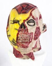 Cabeza Completa Iron Man Zombie Látex Máscara Deluxe Sofisticado Vestido Halloween muertos vivientes Ironman