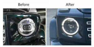 For 2002-2019 Mercedes Benz G-Class Headlights assembly Full LED Lens Projector