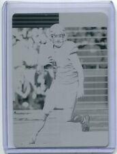 2019 Donruss Printing Plate Black Travis Kelce 1/1 Kansas City Chiefs