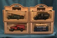 Vintage Days Gone Diecast Lledo Cars Bygone Days Good Year Tyres, RAC, Fire