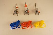 OOP 1992 Battle Masters IMPERIAL KNIGHTS Empire Reiksguard Lot of 3 - Warhammer