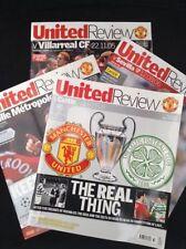 Champions League Home Teams C-E Celtic Football Programmes