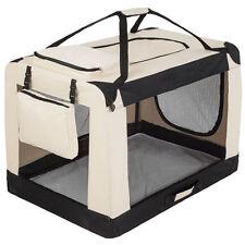 Faltbare Hundetransportbox Transportbox Hundebox Katzen Hunde Auto Box XXXL