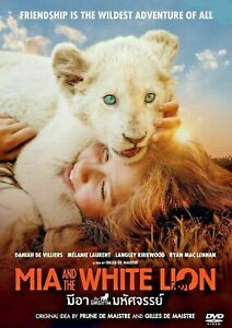 Mia and the White Lion (2018) DVD R0 PAL - Daniah De Villiers, Family Pet Drama