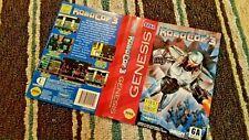 BOX ART ONLY Robocop 3 Original Sega Genesis Case Sleeve