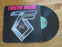 DEE SNIDER of TWISTED SISTER signed YOU CAN'T STOP ROCK 'N' ROLL 1983 Record COA