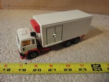 Rare! Siku diecast Volvo F12 Turbo 6 delivery, panel truck w/ ramp. W. Germany.