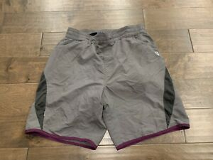 Bontrager Womens Gray MTB Baggy Short WSD Padded Cycling Shorts Size L