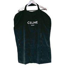 Celine Paris Garment Bag Black