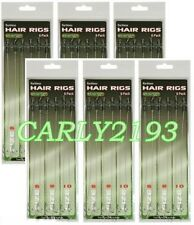 36 X HAIR RIGS BARBLESS SIZE 6 8 10 CARP FISHING TACKLE RIG joblot
